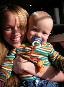 Sam as a Baby!